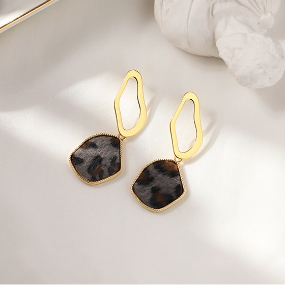 Fashion Individual 925 Silver Geometric Earrings 3