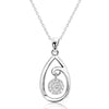 Gorgeous Cubic Zirconia 925 Sterling Silver Lovely Necklace