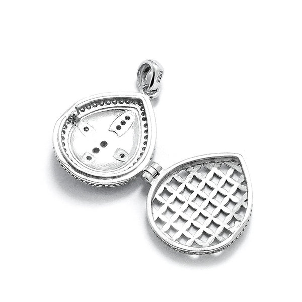 Graceful 925 Sterling Silver Message Pendant Necklace - Jewelry - Prjewel.com - 4