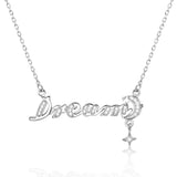 Beautiful Dream Cubic Zirconia 925 Sterling Silver Necklace - Jewelry - Prjewel.com - 1