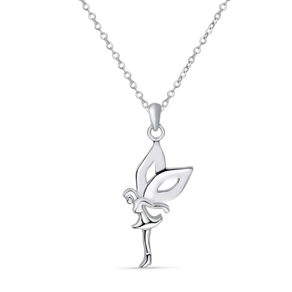 Sterling Silver Elf Necklace