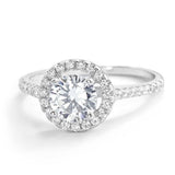 925 Sterling Silver Gorgeous 1.2 Carat Brilliant Cut Cubic Zirconia Ring - Jewelry - Prjewel.com - 1