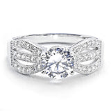 925 Sterling Silver Gorgeous Cubic Zirconia Ring - Jewelry - Prjewel.com - 1