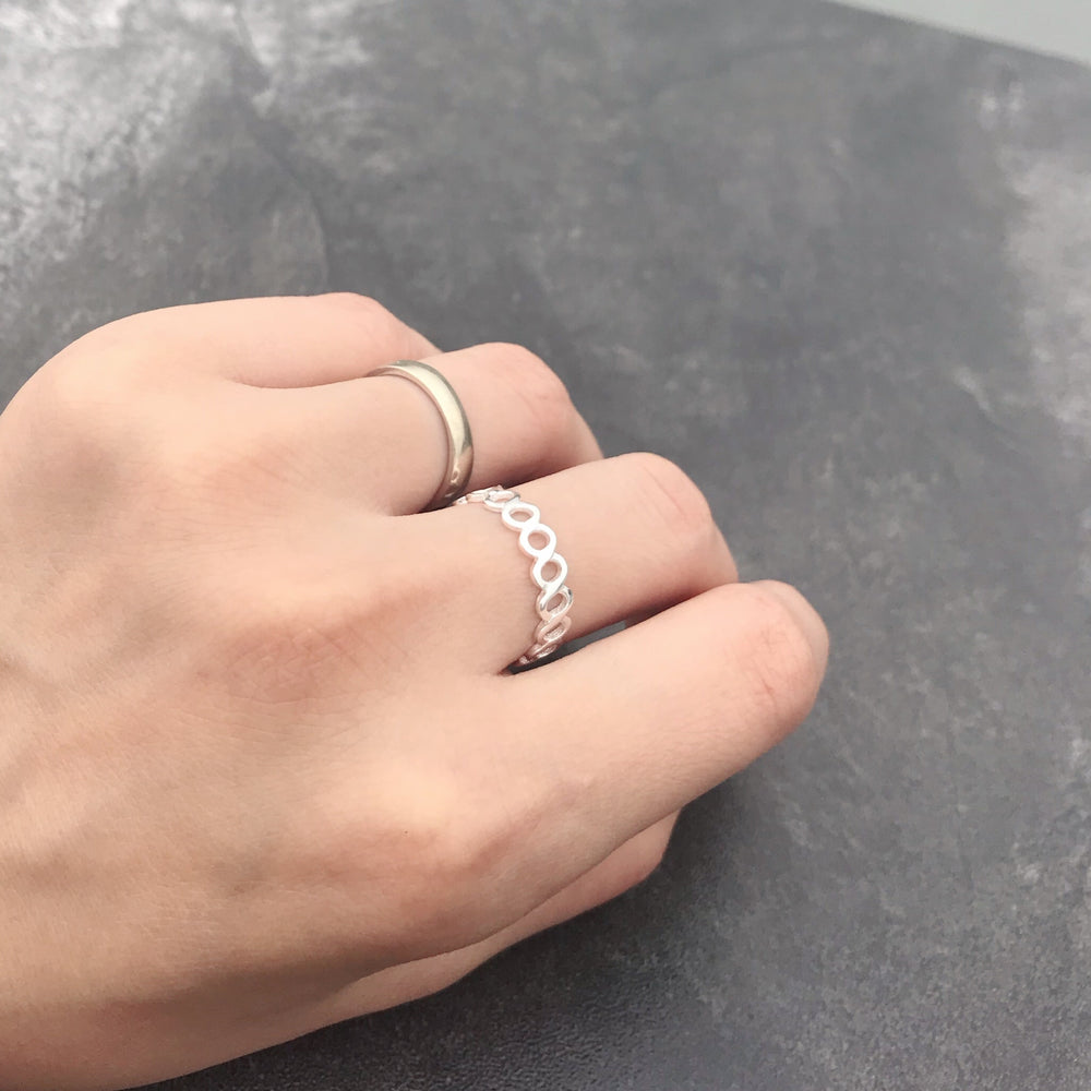 Stackable Sterling Silver Band Ring