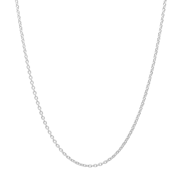 Sterling Silver Double Circle Necklace Dangling 2