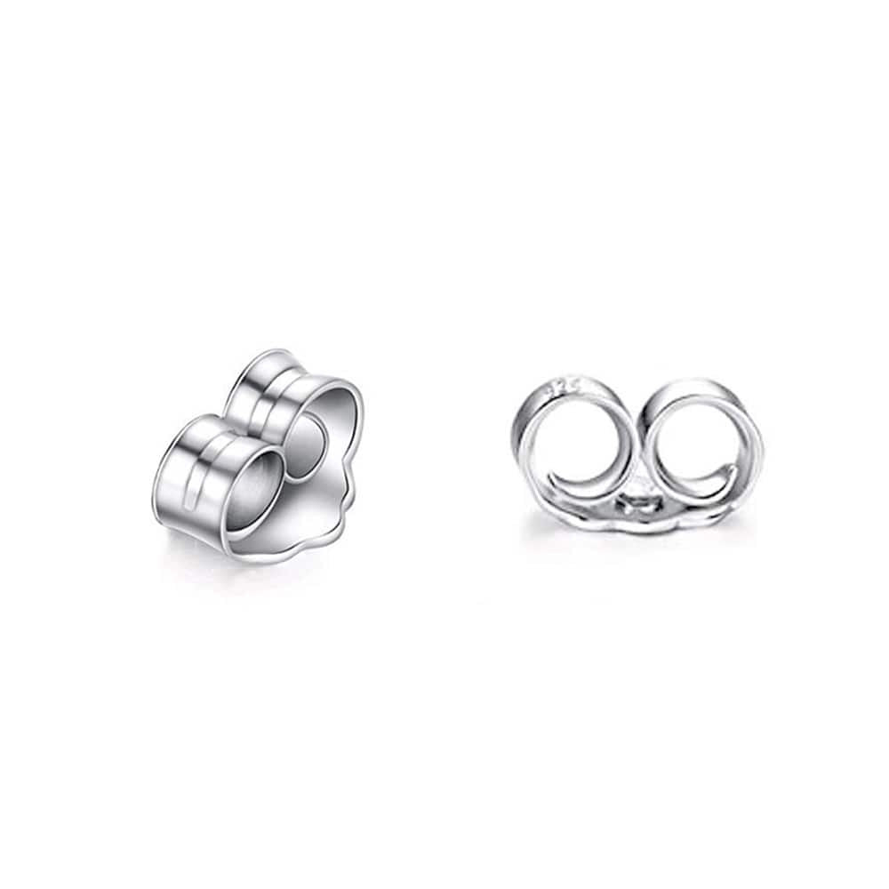 Sterling Silver Flower Stud Earrings for Women 3