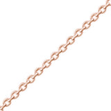 "Rose Gold Plated 925 Silver CZ Fabulous key Pendant Necklace 16""+ 2"" - Jewelry - Prjewel.com - 2"