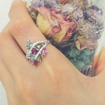 Graceful 925 Sterling Silver 2.3 Carat Natural Tourmaline Ring - Jewelry - Prjewel.com - 2
