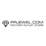 Rose Gold Plated 925 Sterling Silver Pure Circle CZ Necklace - Jewelry - Prjewel.com - 1