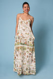 Annabelle World Map Maxi Dress