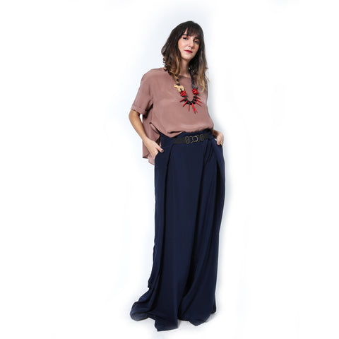 Annabelle Uniform Myrna Pants navy