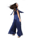 Annabelle Uniform Rebecca Jumpsuit navy