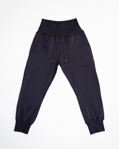Blank Canvas Jogger - black