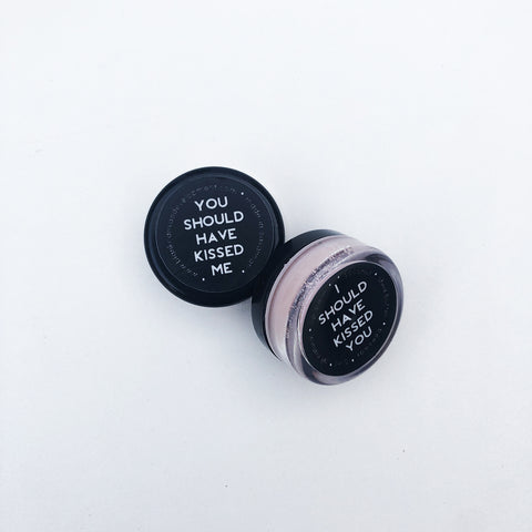 Blank Canvas kisses lip balm