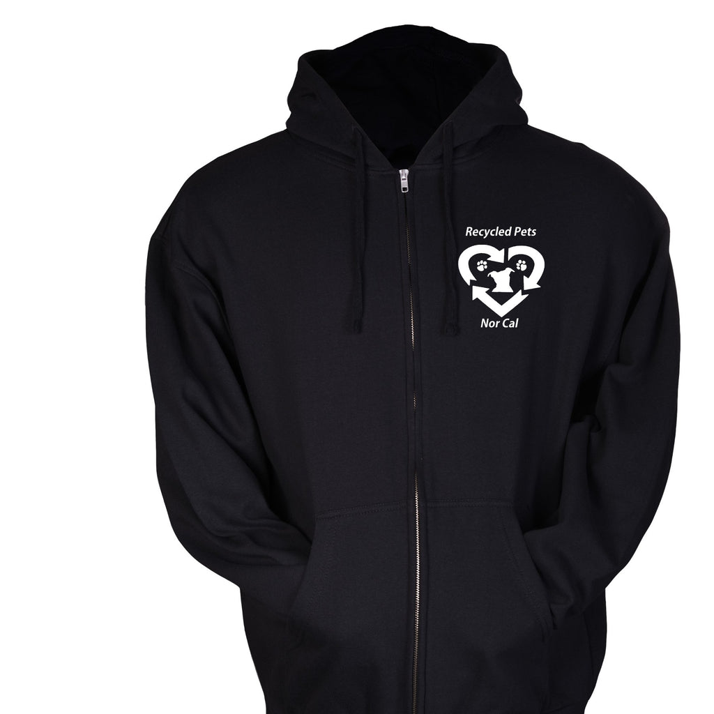 RPNC Zip Up Hoodie - Ruff Life Rescue Wear