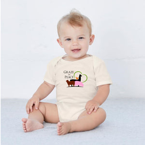 Graze in Peace Baby Onesie - Ruff Life Rescue Wear