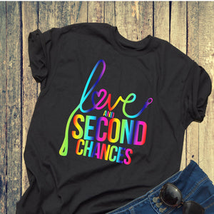 Love and Second Chances Pride Unisex Tee - Ruff Life Rescue Wear