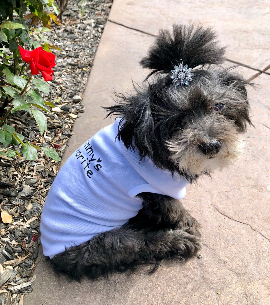 Mommy's Favorite -Doggie Tee - Ruff Life Rescue Wear