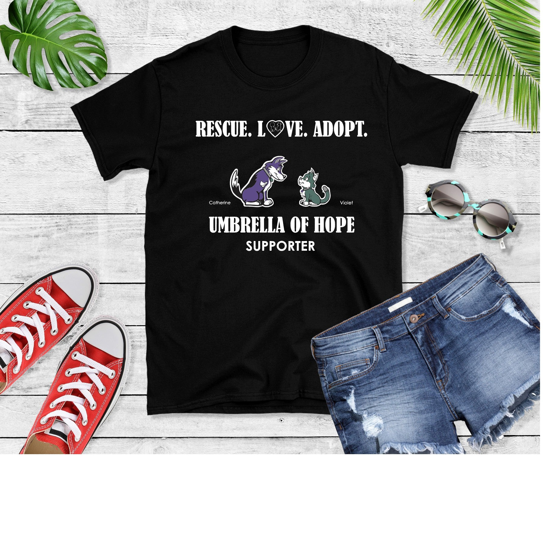 Umbrella of Hope Rescue - Unisex - Ruff Life Rescue Wear
