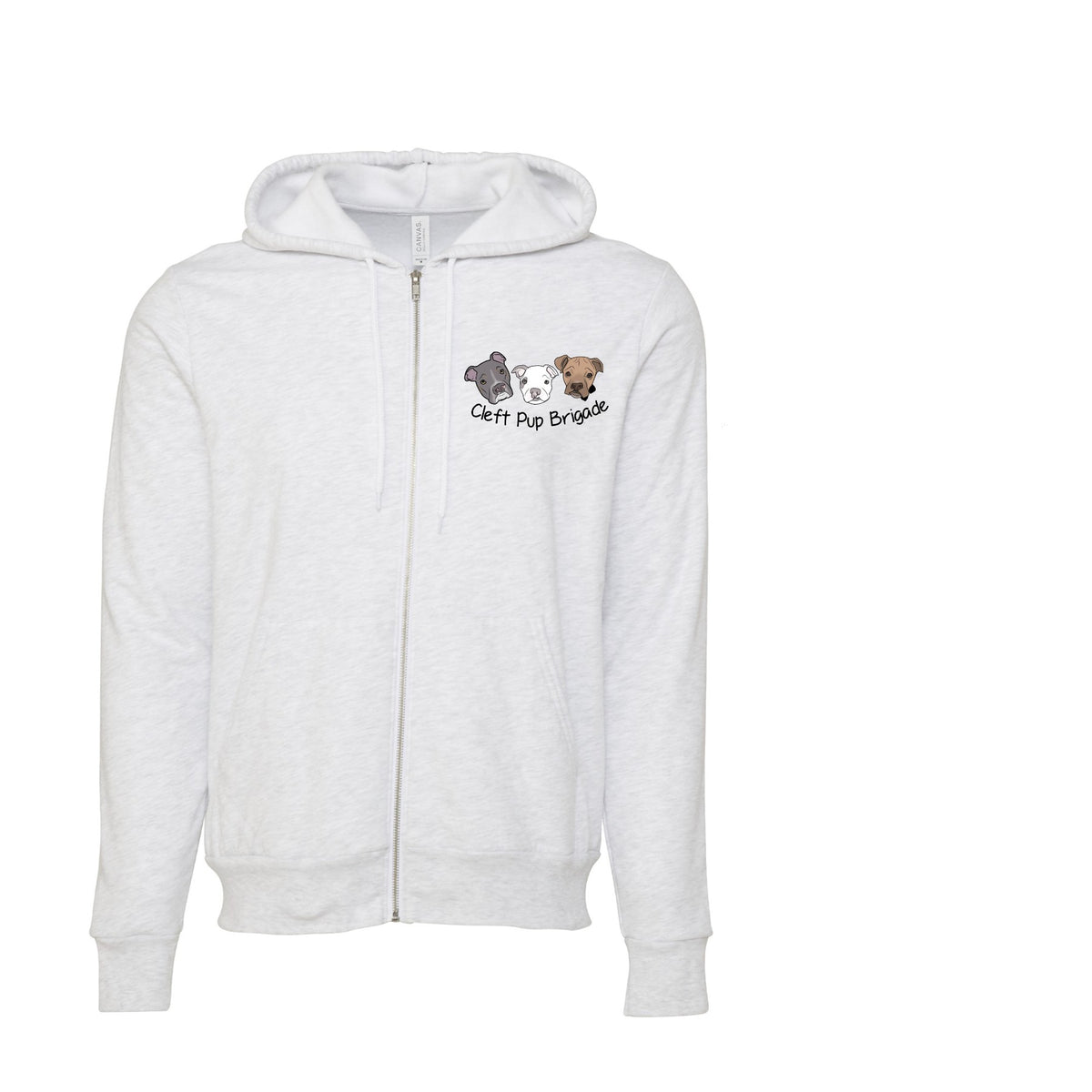 New Cleft Pup Brigade Sponge Fleece Full-Zip Hoodie