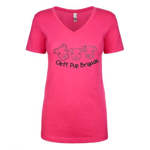 Cleft Pup Brigade V-Neck - Ruff Life Rescue Wear