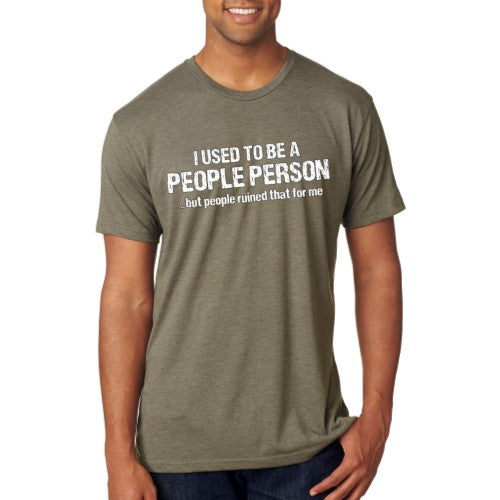 People Person - Unisex Tee - Ruff Life Rescue Wear