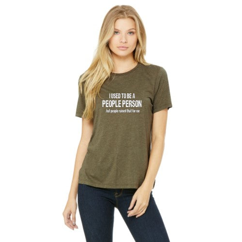 People Person - Relaxed Tee - Ruff Life Rescue Wear