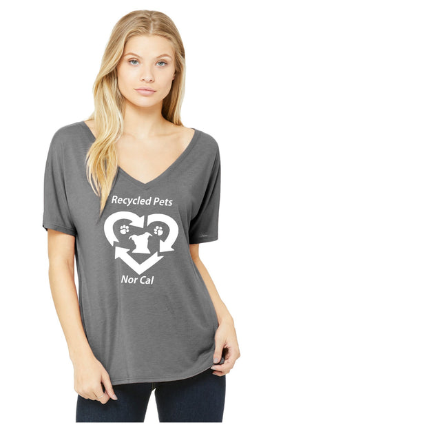 Recycled Pets NorCal Slouchy V-Neck