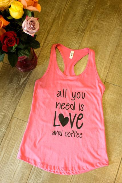All You Need Is Love Flowy Racerback Tank - Ruff Life Rescue Wear