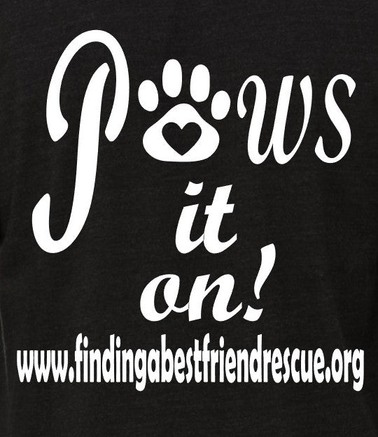 Finding A Best Friend - Youth Tee - Ruff Life Rescue Wear