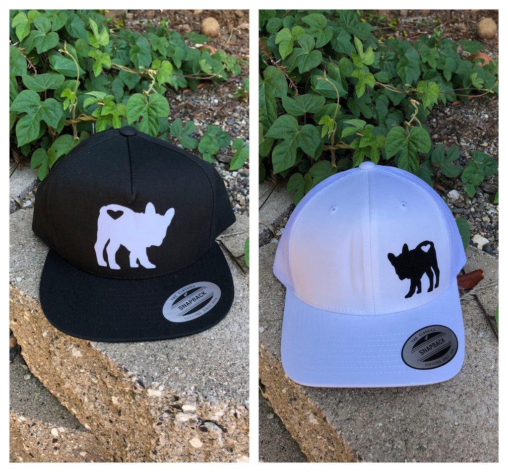French Bulldog Silhouette Cap - Ruff Life Rescue Wear