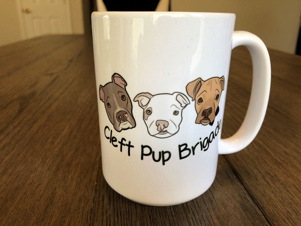 Cleft Pup Brigade Coffee Mug - Ruff Life Rescue Wear