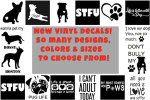 Fun Vinyl Decals - Ruff Life Rescue Wear