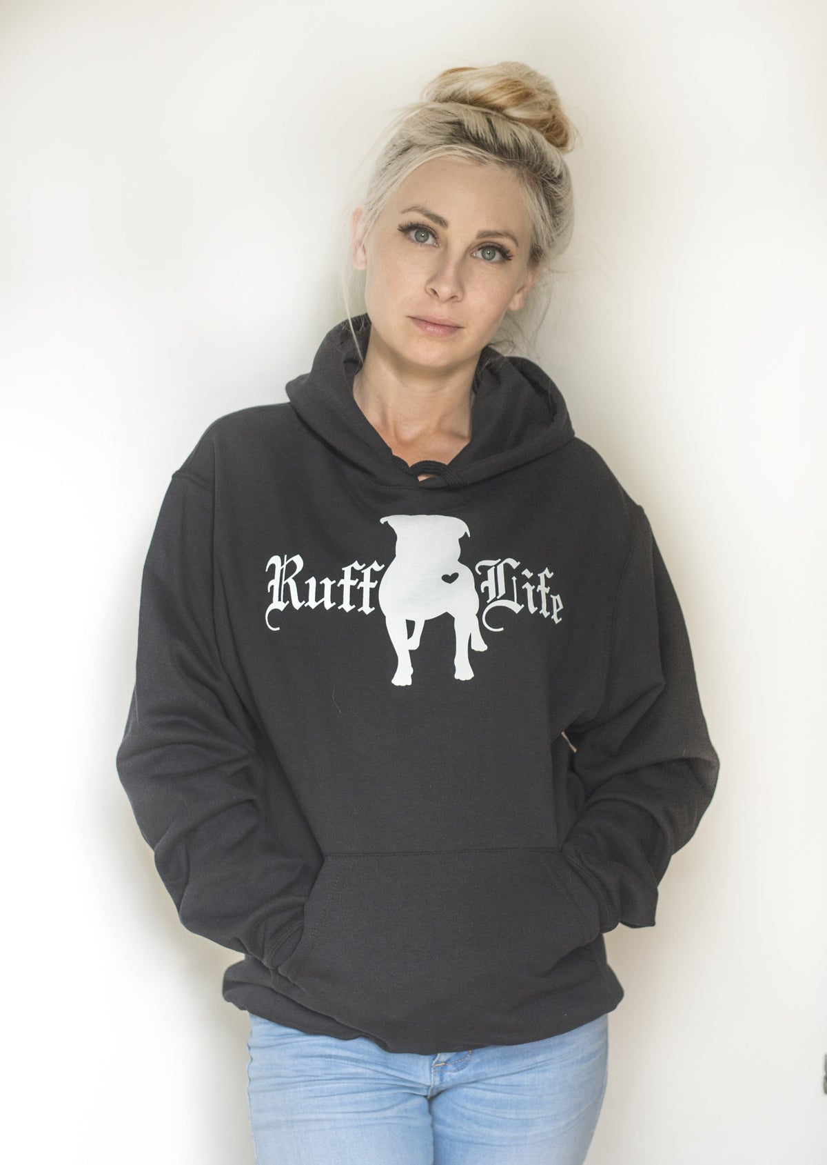 Unisex Pull Over Hoodie - Ruff Life Rescue Wear