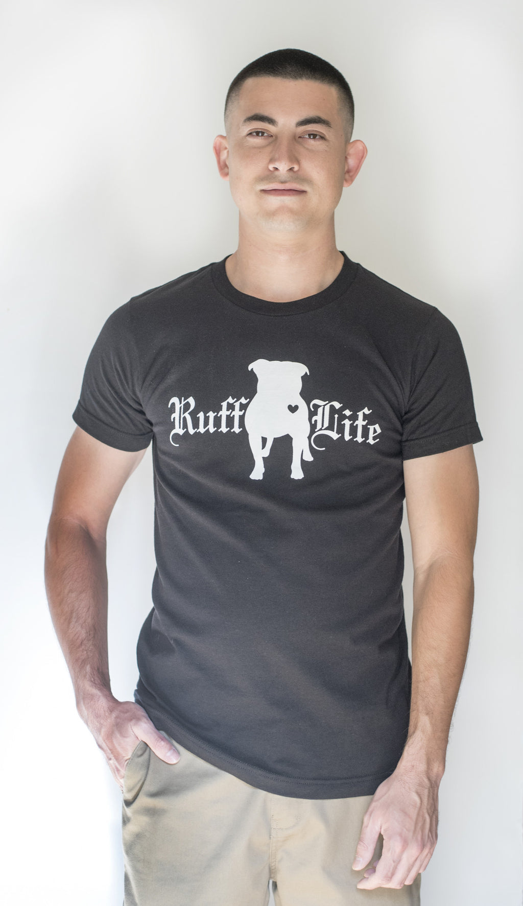 Pit Bull Unisex Tee - Ruff Life Rescue Wear