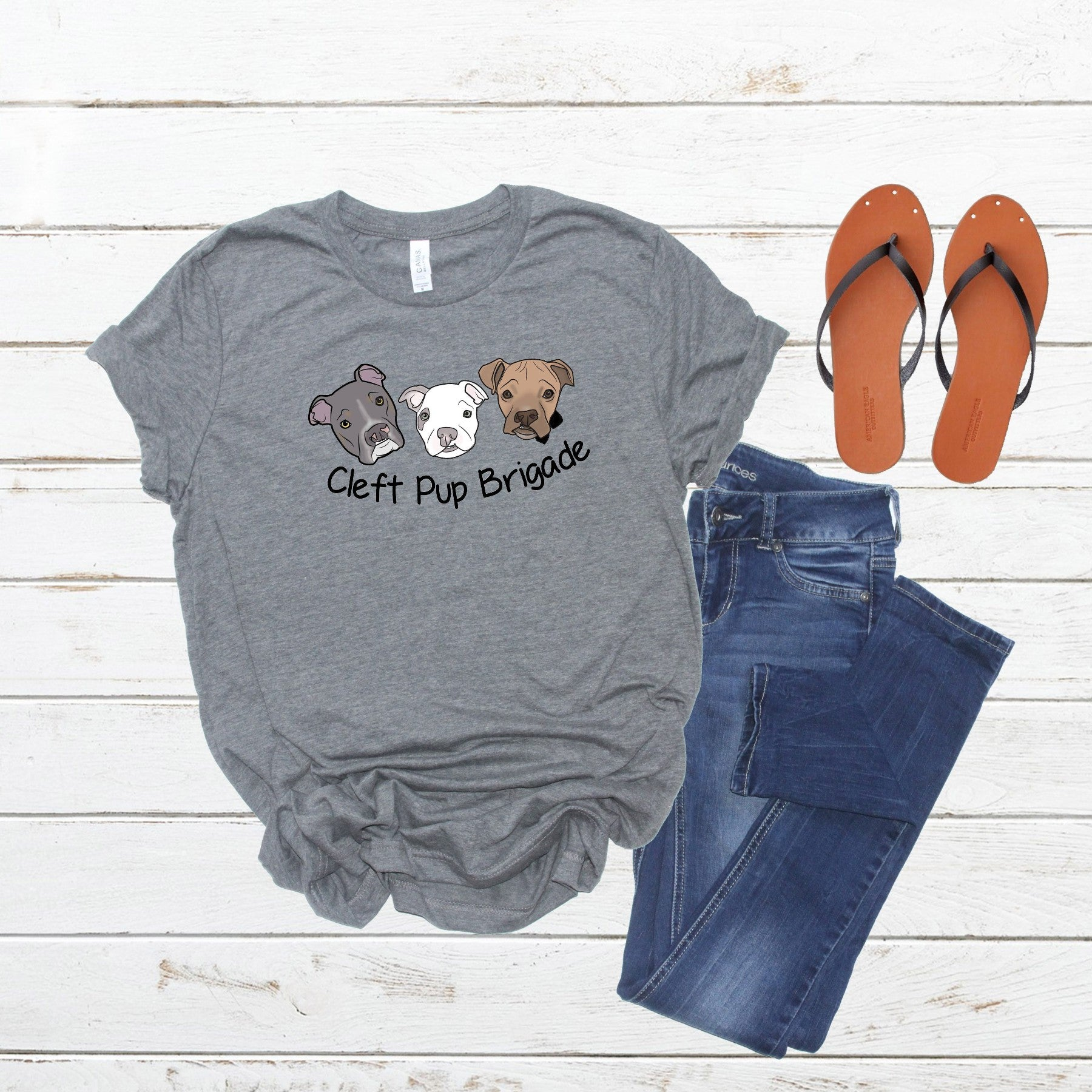 New Cleft Pup Brigade Unisex (large logo) - Ruff Life Rescue Wear