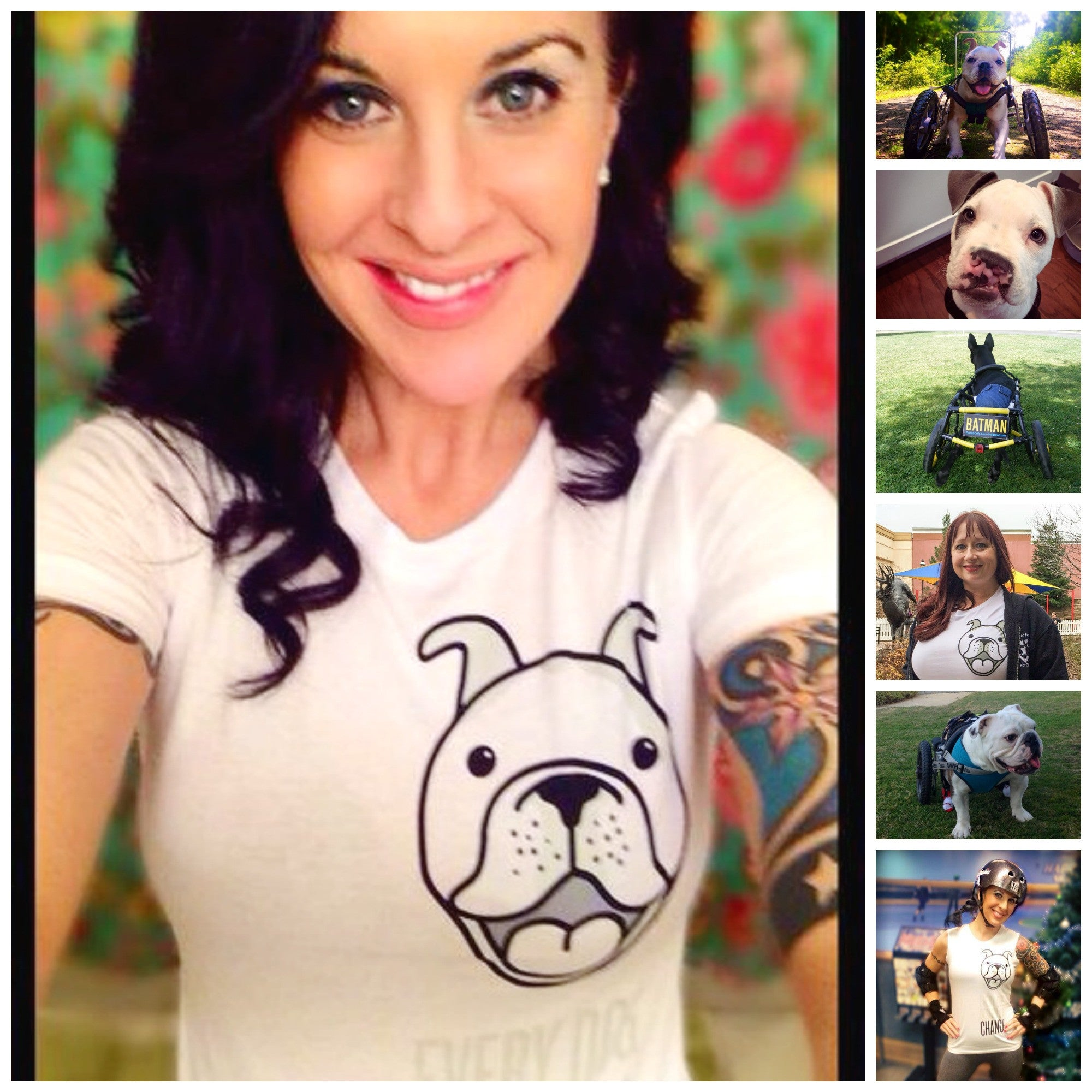 Every Dog Deserves a Chance! Women's Slim Fit - Ruff Life Rescue Wear
