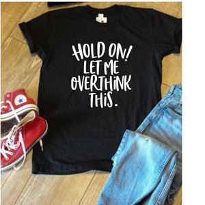 Hold On Unisex Tee - Ruff Life Rescue Wear