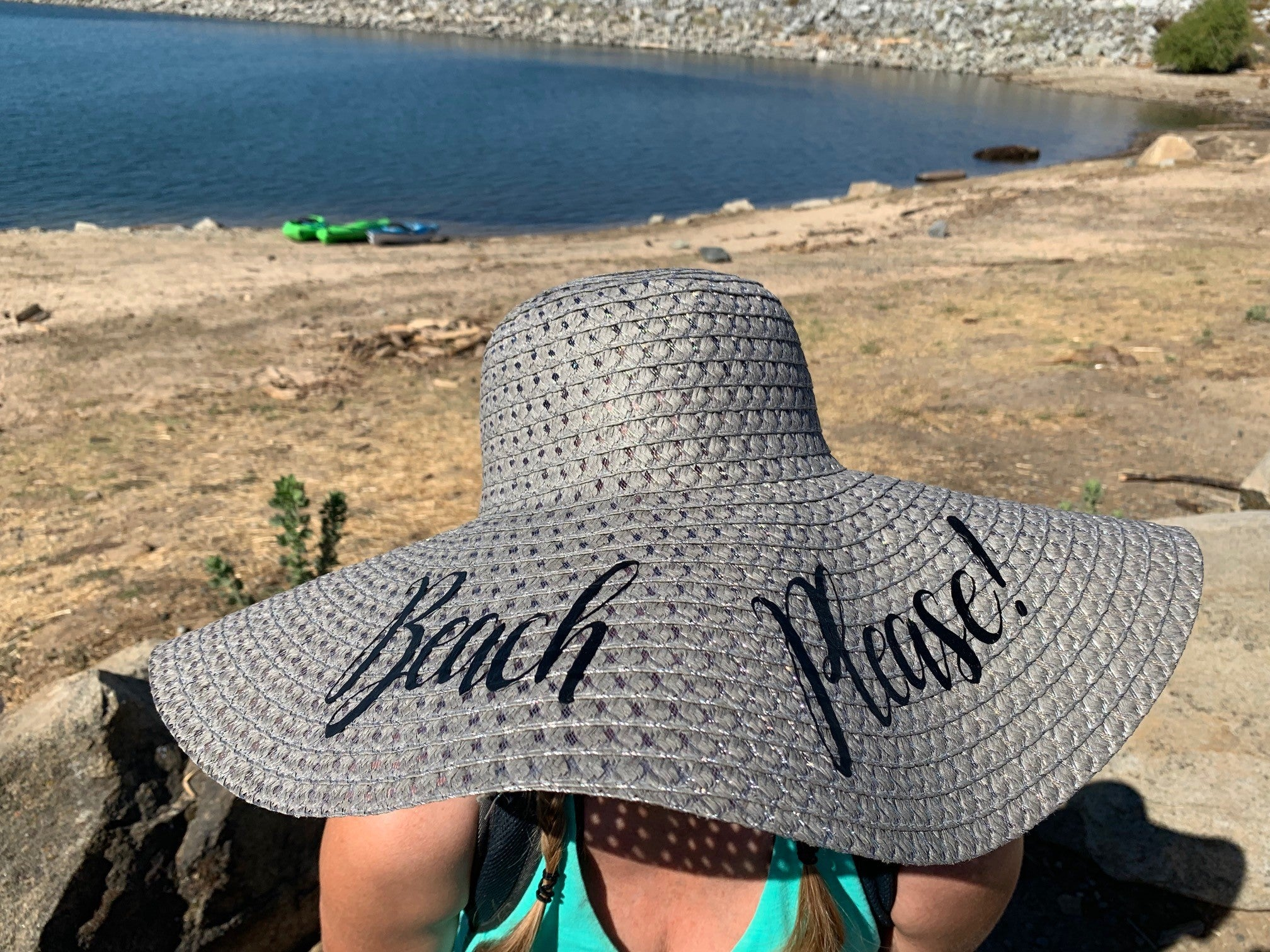 Beach Please Floppy Hat - Ruff Life Rescue Wear