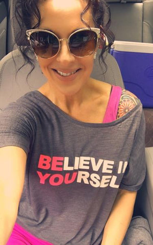 Believe in Yourself Slouchy Tee - Ruff Life Rescue Wear