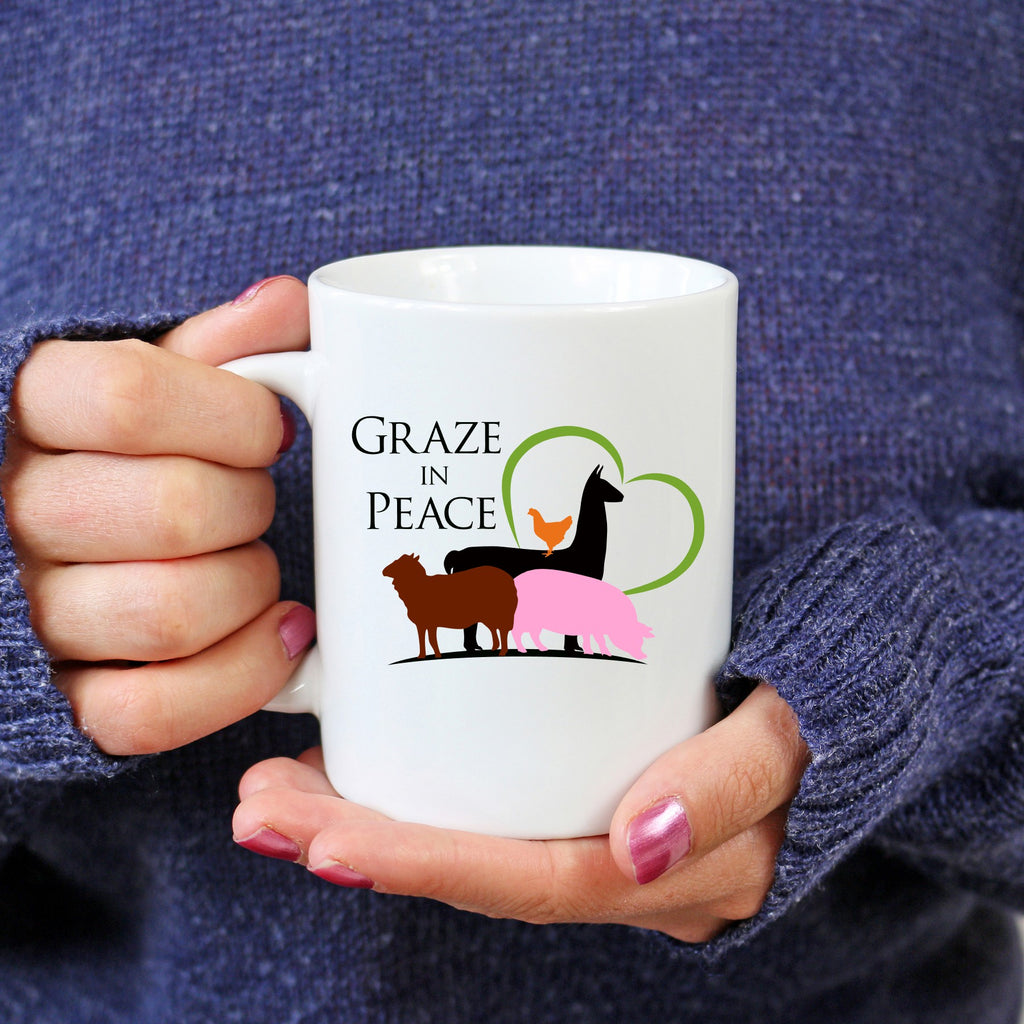 Graze in Peace Coffee Mug - Ruff Life Rescue Wear