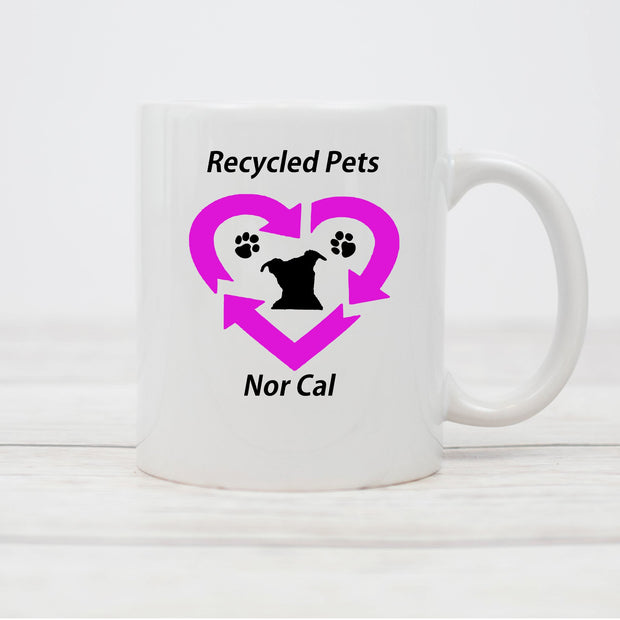 Recycled Pets NorCal Coffee Mug - Ruff Life Rescue Wear