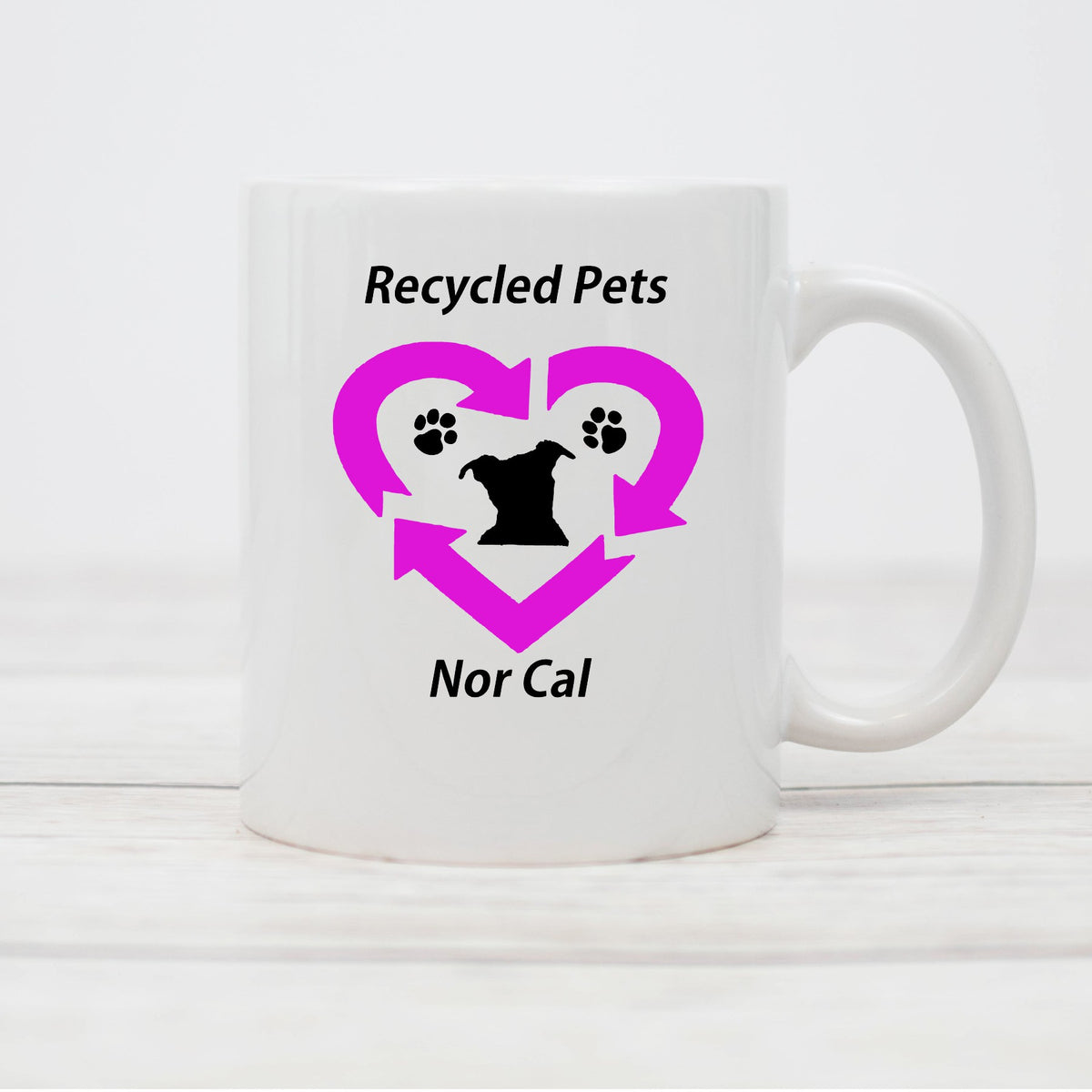 Recycled Pets NorCal Coffee Mug
