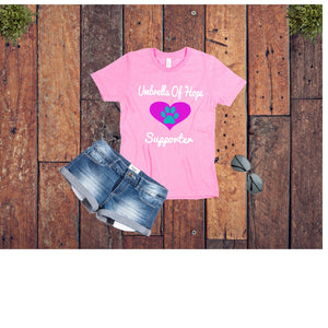 Heart Umbrella of Hope Rescue - Unisex - Ruff Life Rescue Wear