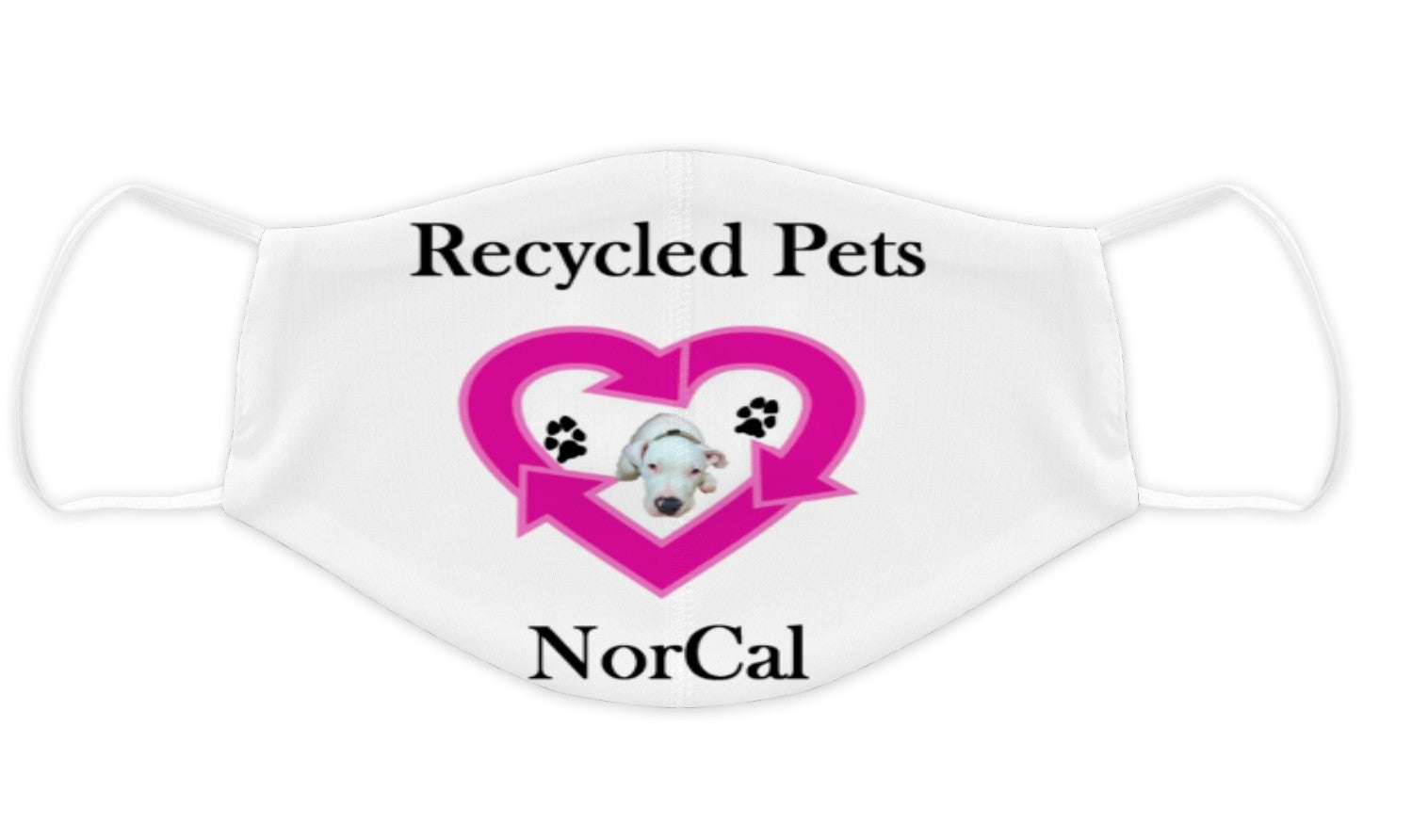 Recycled Pets NorCal Face Mask - Ruff Life Rescue Wear
