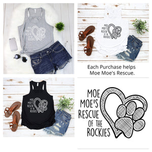Moe Moe's Tank Top - Ruff Life Rescue Wear