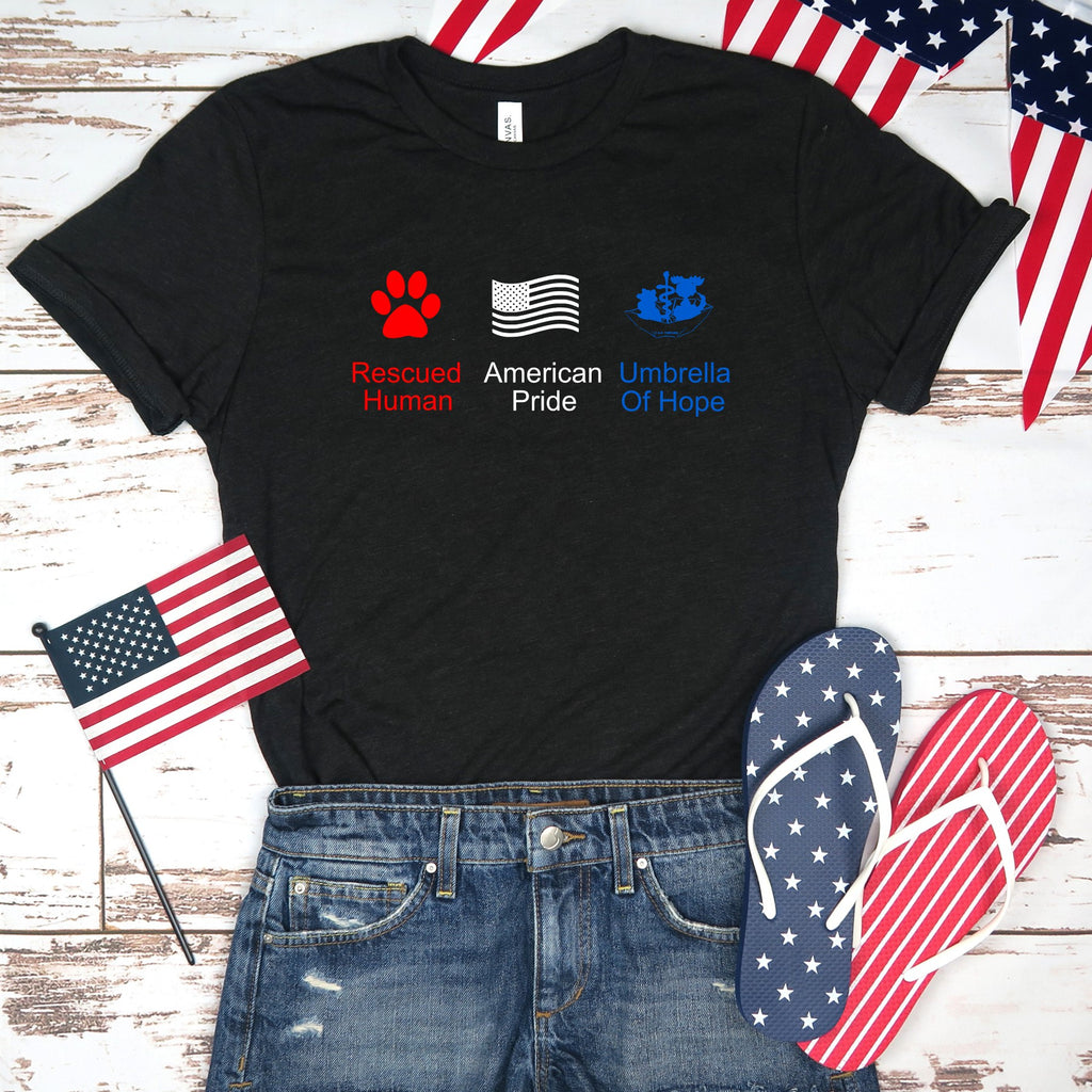4th of July Umbrella of Hope Unisex - Ruff Life Rescue Wear