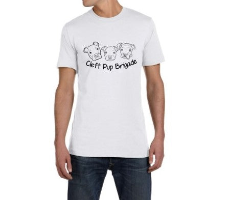 Cleft Pup Brigade Unisex Large Logo - Ruff Life Rescue Wear