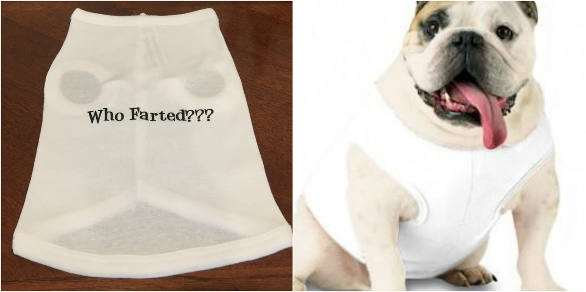 Who Farted??? Doggie Tee