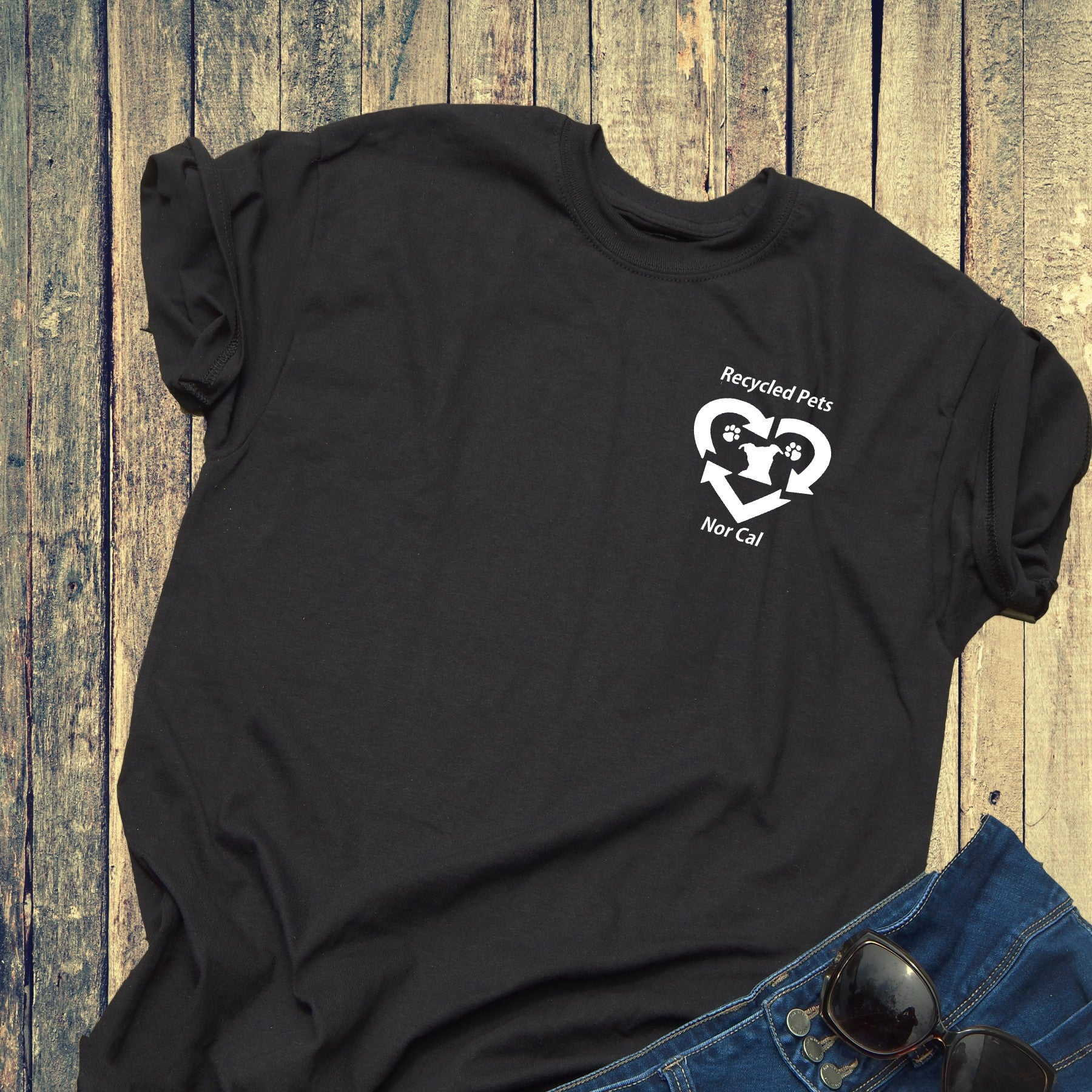 Recycled Pet Small Logo Unisex - Ruff Life Rescue Wear